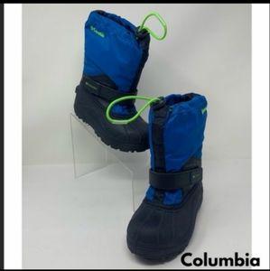 Columbia kids snow / winter boots. Like New